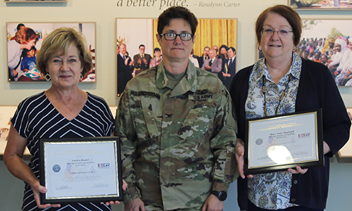 Photo for news article GSW Nursing Faculty Recognized as Patriotic Employers