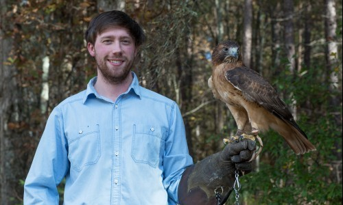 Photo for news article GHC Student is One of Only 5,000 Falconers in the United States