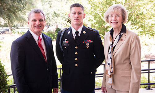Armstrong Student Named 2016 National Best Warrior