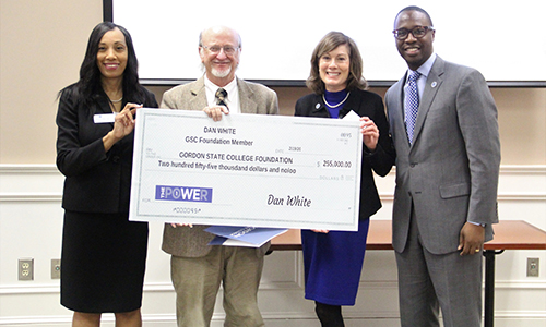 Photo for news article Gordon State College Receives Record Gift