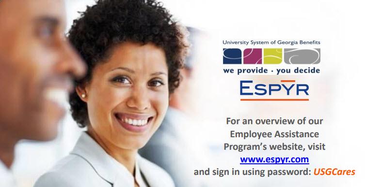 USG Employee Assistance Program - ESPYR!