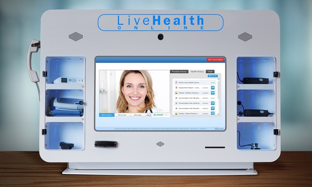 LiveHealth Online Kiosks