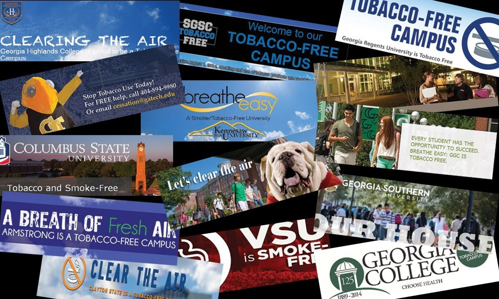 USG Campuses Are Spreading The Word!