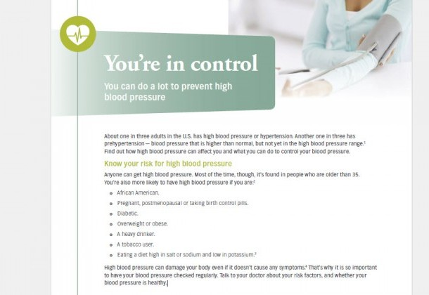 Photo for Know your risk for high blood pressure