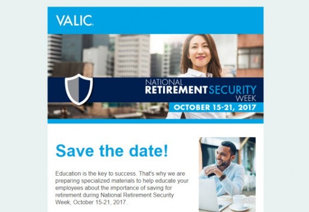 Photo for National Retirement Security Week