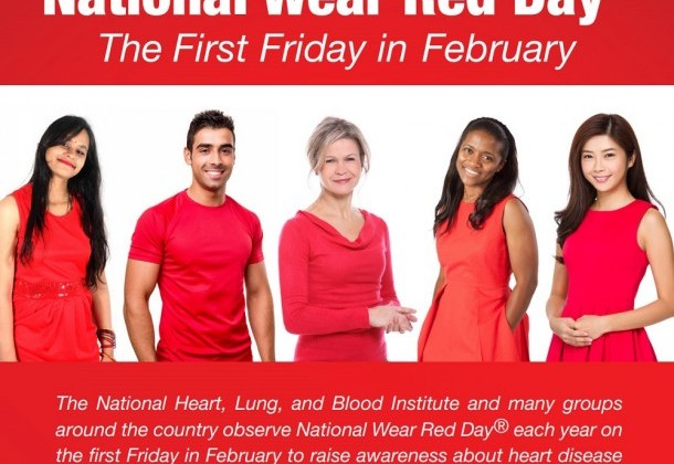 Photo for National Wear Red Day