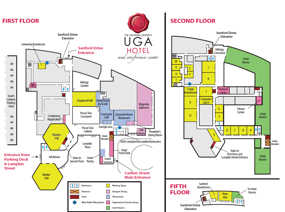 Georgia Center Meeting Room Locations