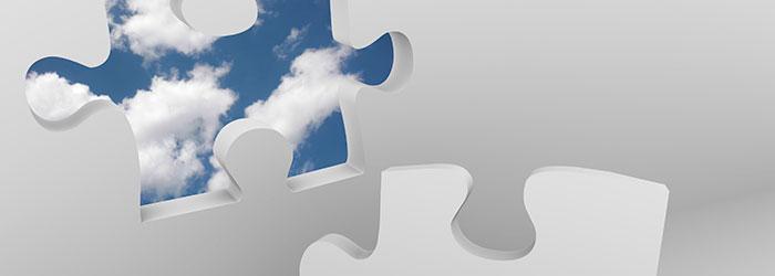 Cloud Puzzle Piece